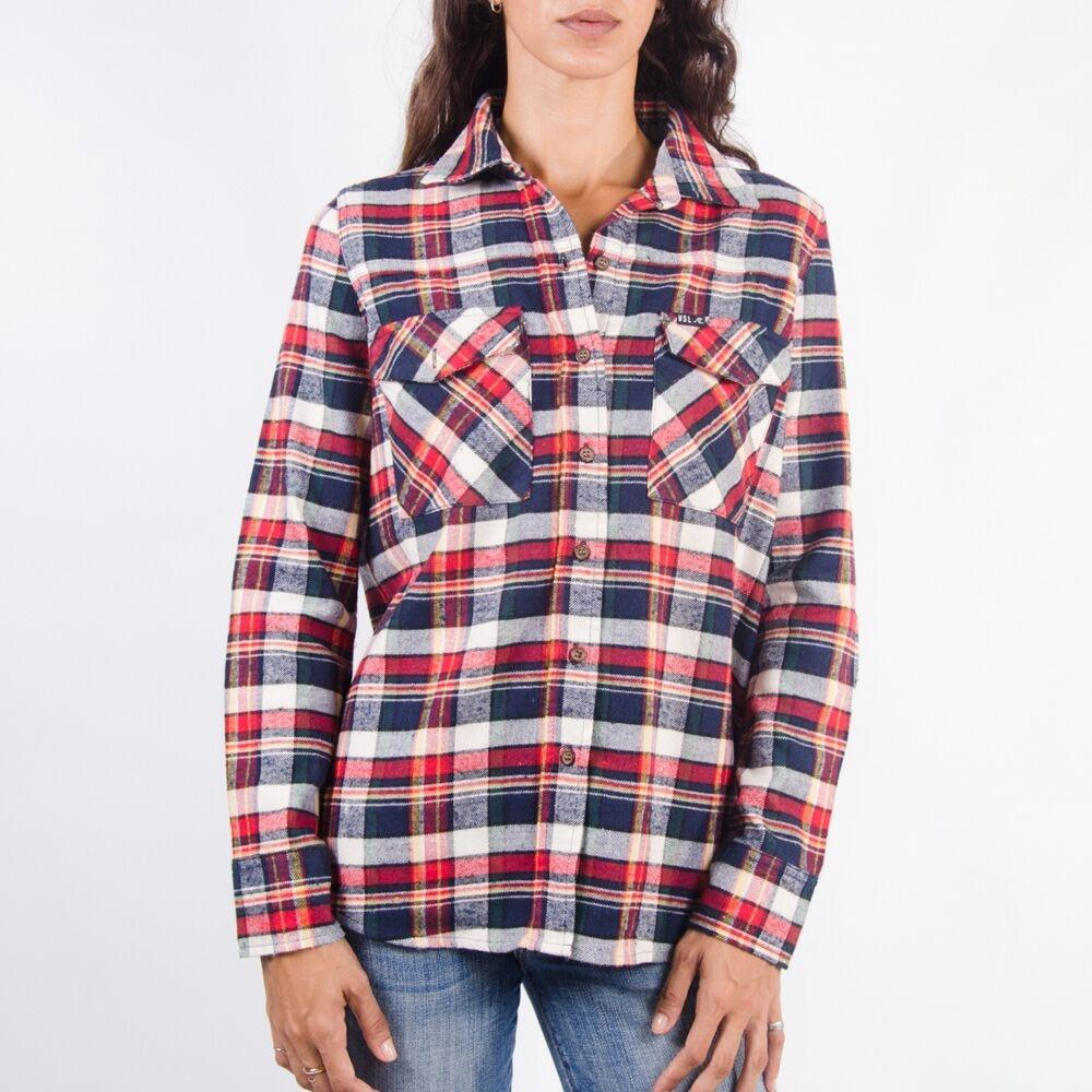 Women's Flannel Shirt (Red)