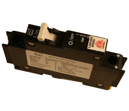 DC Din RAil Mount Braker 150 VDC Availaible from 1 to 100 Amp