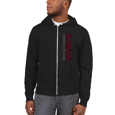 Classic Savage Lights Out Zipper Hoodie