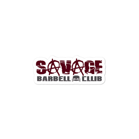 Savage Lights Out Bubble-free stickers