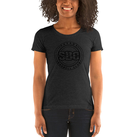 Savage Pillars Women's Tee - Black Print