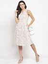 Ayaany Women Beige Casual Dress