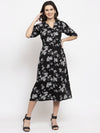 Ayaany Women Black Casual Dress