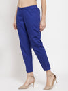 Ayaany Women Blue Casual Pant