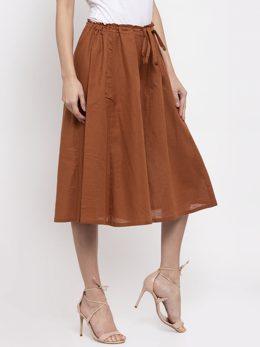 Ayaany Women Brown Casual Culotte