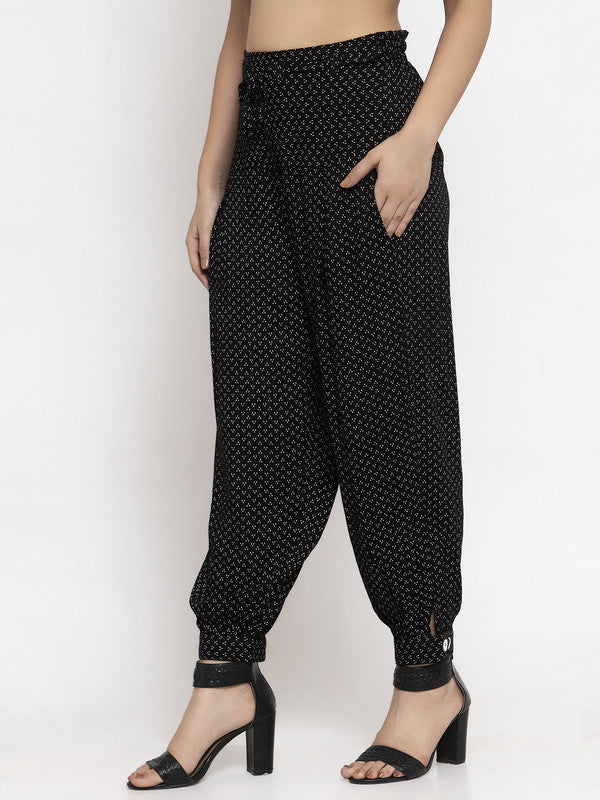 Ayaany All Purpose Crop Cotton Pants with Smart Fit