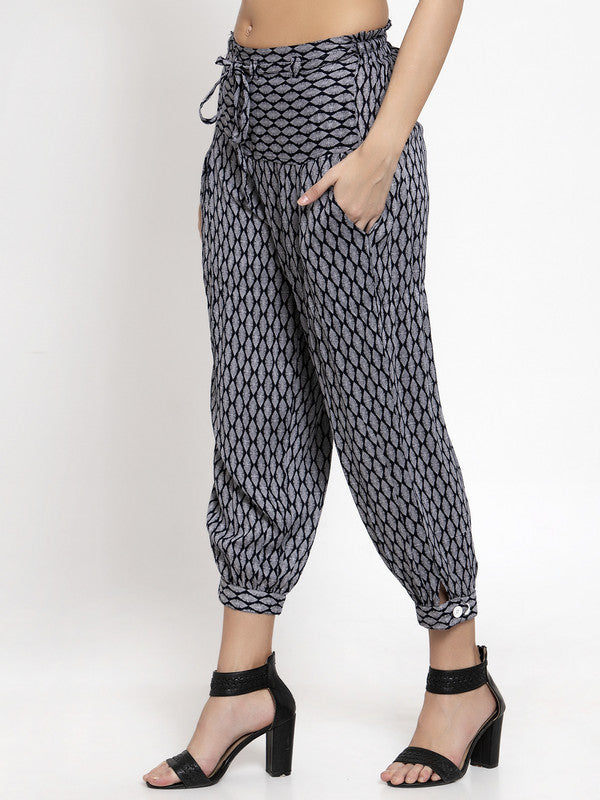 Ayaany All Purpose Crop Summer Pants with Smart Fit