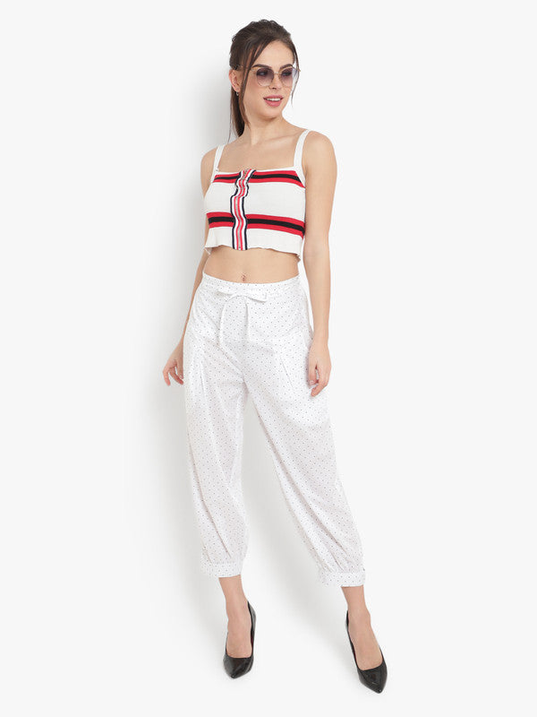 Ayaany All Purpose Crop Pants With Smart Fit