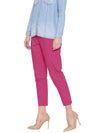 Solid Pant Purple