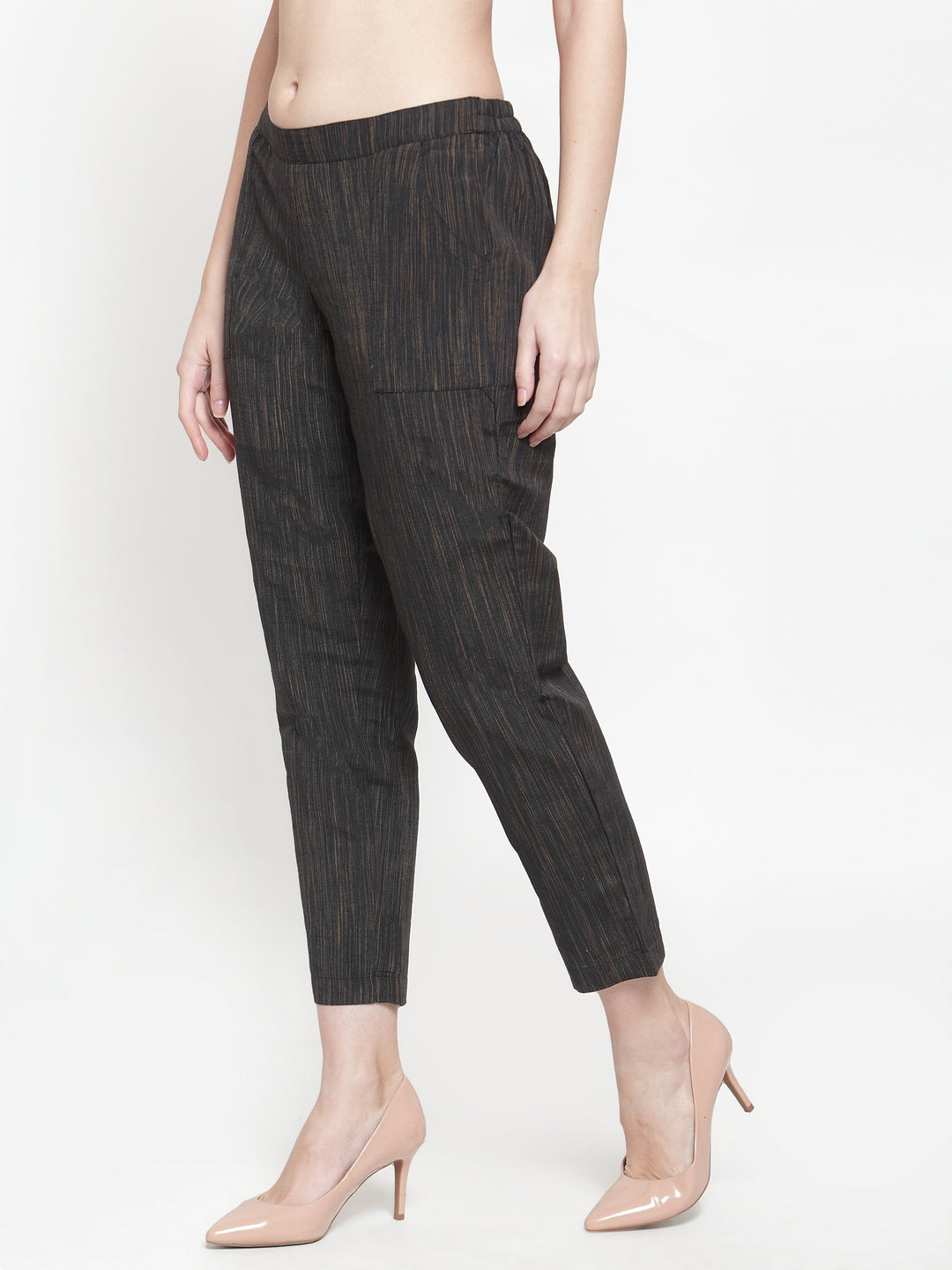Ayaany Women Black Casual Pant