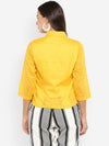 Ayaany Women Yellow Shirt