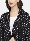 Ayaany Women Black Smart Casual Shrug