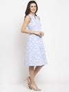 Ayaany Women Blue Casual Dress