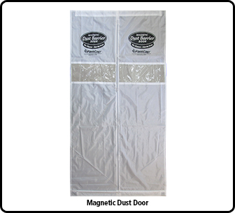 MAGNETIC CURTAIN FOR DUST DOOR