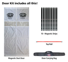 3-H MAG DUST BARRIER DOOR