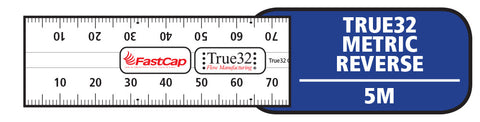 True 32 Metric Reverse Tape Measure