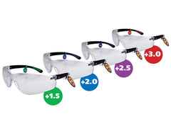 CatEyes Safety Mag Glasses - Clear