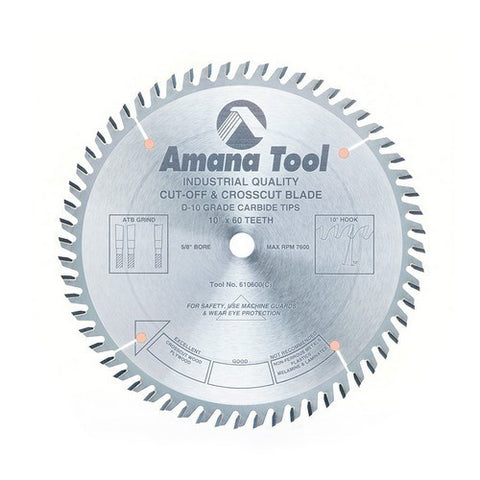 Amana Cut-Off & Crosscut 610600