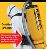 2.5 Gal HEPA Back Pack Vacuum