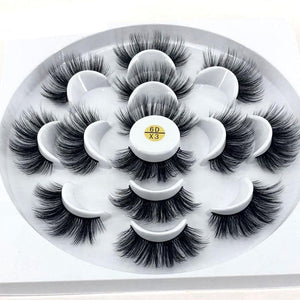 Long 3D Mink Eyelashes