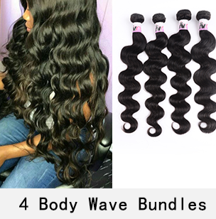4 Bundles Brazilian Body Wave Hair