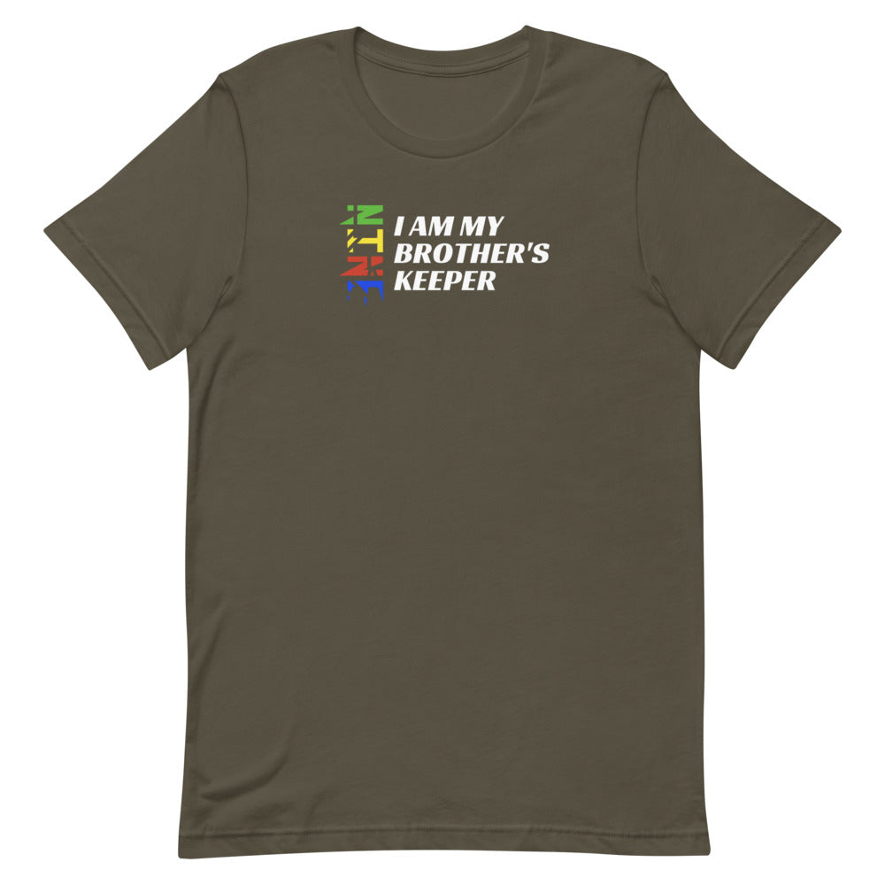 """I Am My Brother's Keeper"" 2 Unisex T-Shirt (Dark Garments)"