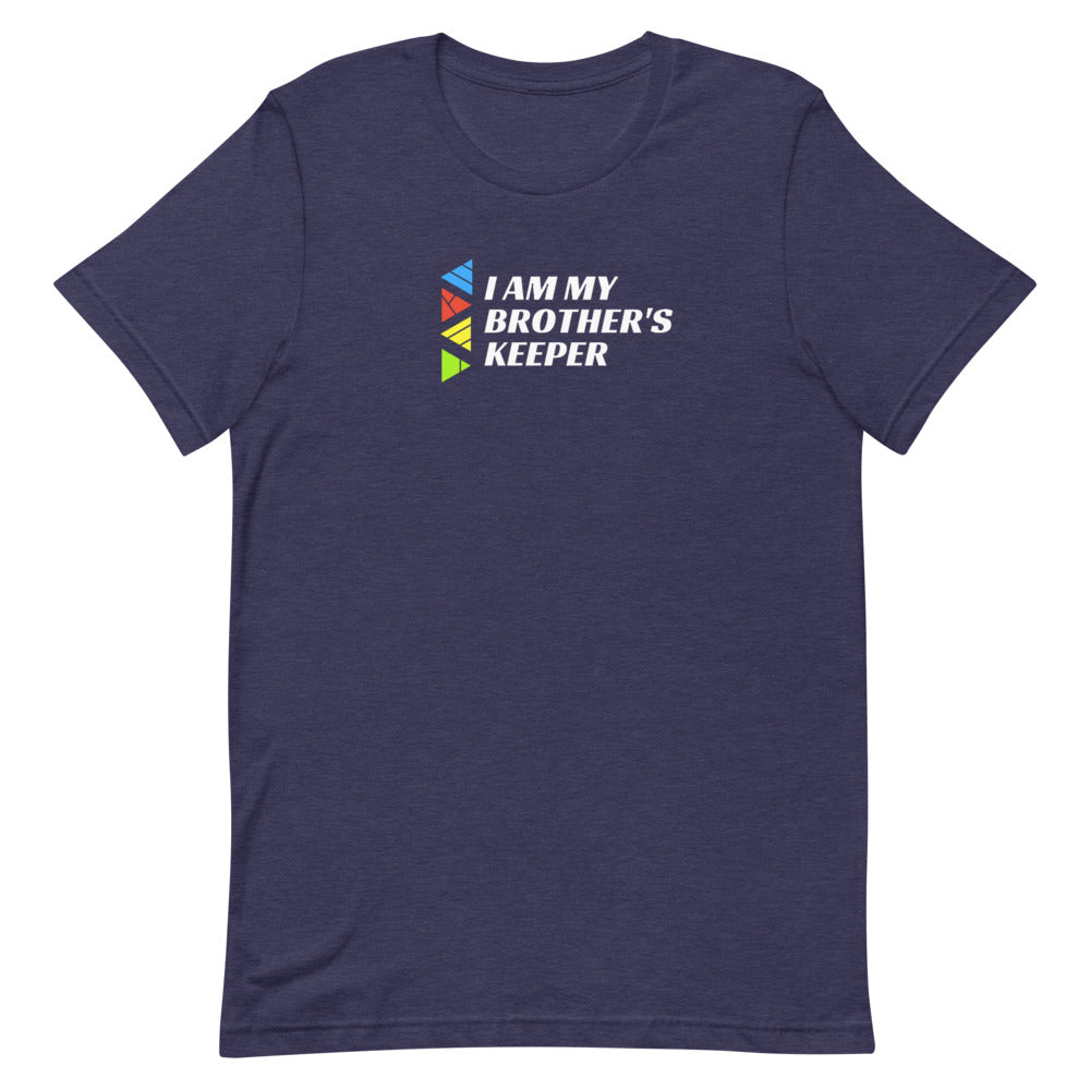 """i Am My Brother's Keeper"" Unisex T-Shirt (Dark Garments)"