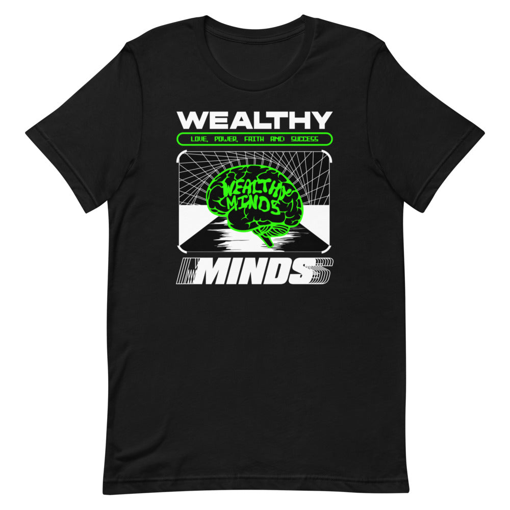 """Wealthy Minds"" T-Shirt"