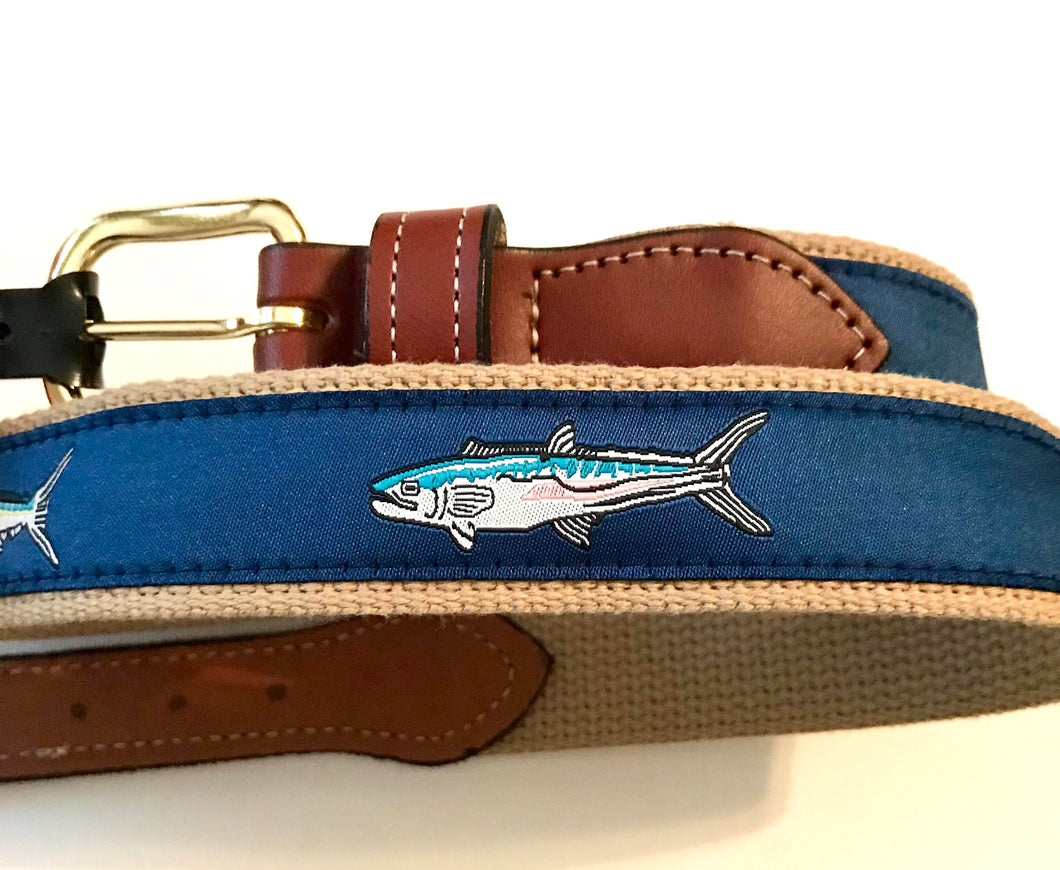 Belt Fish with Navy