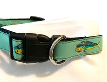 Load image into Gallery viewer, Dog Collar Seafoam Dolfin