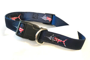 Dog Collar USA Fish