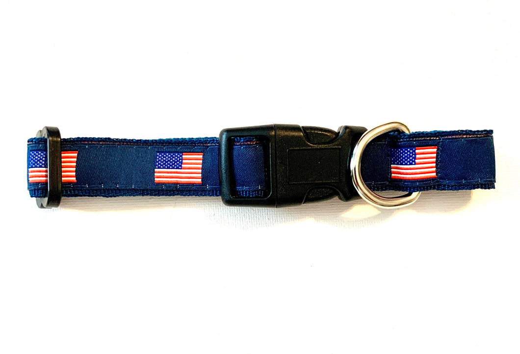 Dog Collar American Flag