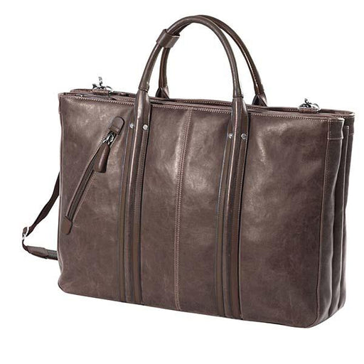 VINTAGE Briefcase-Dark Brown