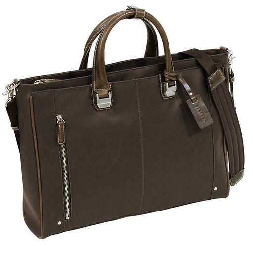 TREASURE Briefcase-Dark Brown