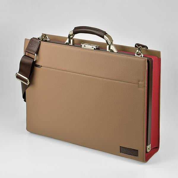 UNOFUKU Dulles Briefcase-Red