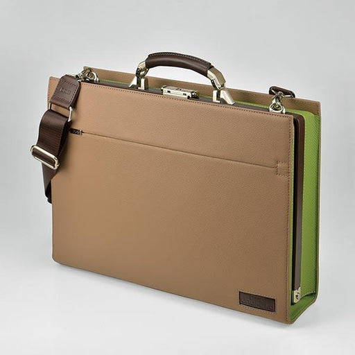UNOFUKU Dulles Briefcase-Green