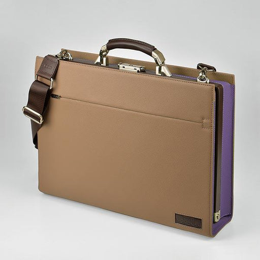 UNOFUKU Dulles Briefcase-Purple