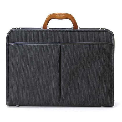 129 Wood Handle Briefcase