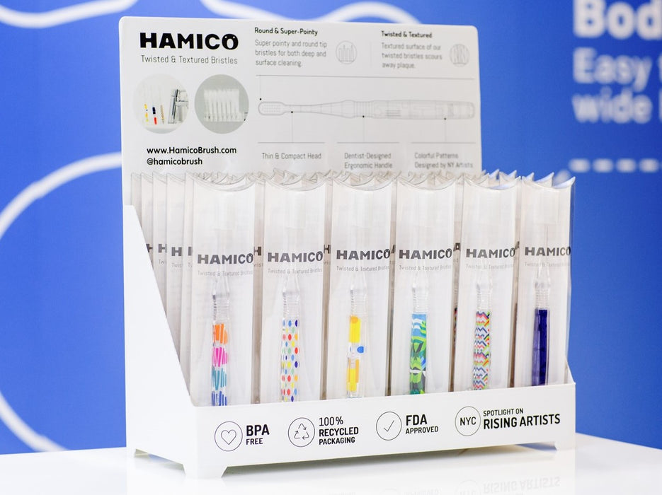 HAMICO - Adult Toothbrush Display Stand