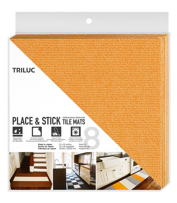 Place n' Peel Tile Mat - Pack of 8 mats