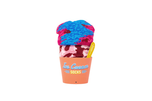 Ice Cream Socks - Black Cherry