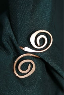 Spiral Copper Ring
