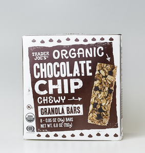 Barritas de Granola con Chocolate Chips Trader Joe's 192g (8-pack)