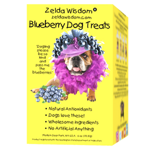 Treats Blueberry filled with natural antioxidant and all natural ingredients