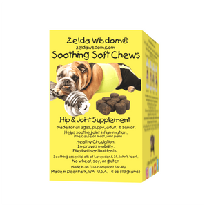 Supplement Joints and Hips, Soothing Soft Chews