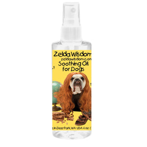 Smooth, Restless or Achy Dogs (No CBD or THC) Topical