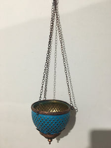 Blue Hanging Holder