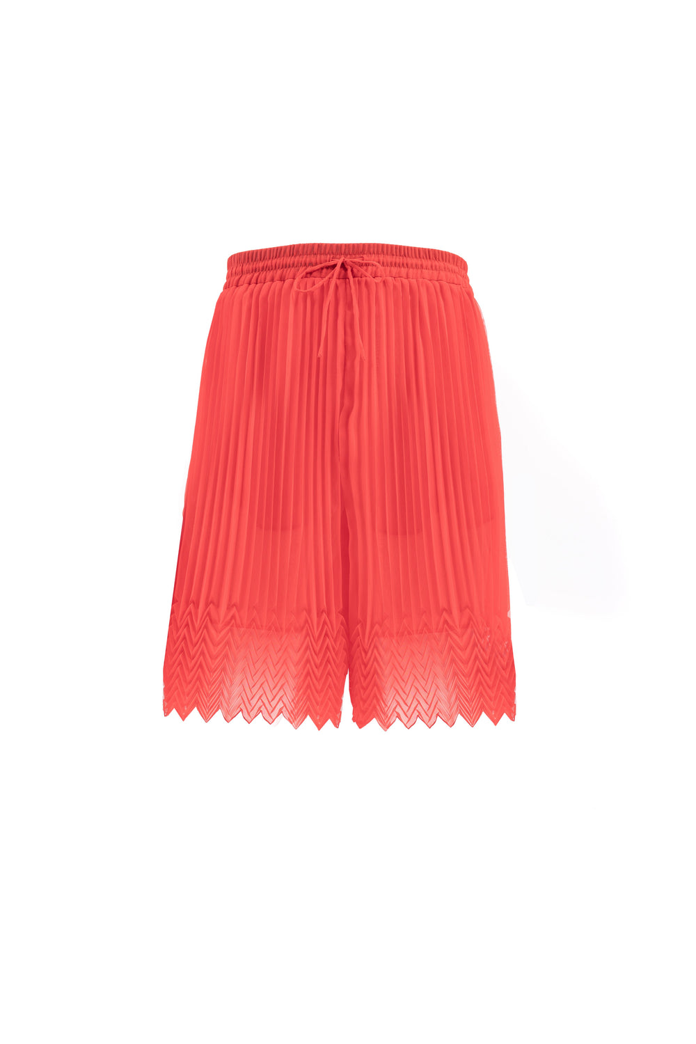 Pleated Bermudas