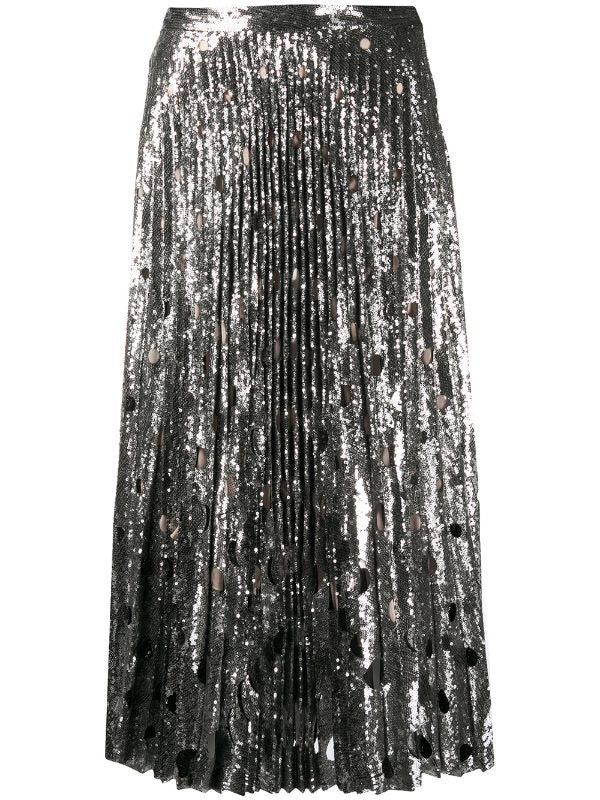 All-over Sequin Skirt