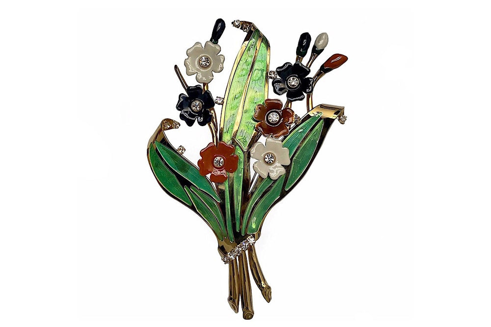 Bouquet Maxi Brooch